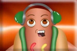 Floor is Lava VS Dancing Hotdog