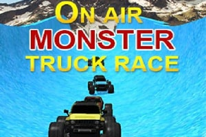 On Air Monster Truck Race