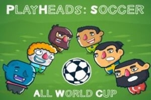Play Heads Soccer All World Cup
