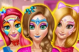 Princess Room Face Painting